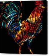 rooster  Gallo Giro Canvas Print