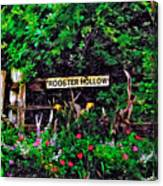 Rooster Hollow Canvas Print
