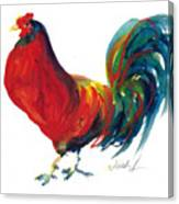 Rooster - Little Napoleon Canvas Print