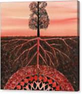 Root Chakra Canvas Print