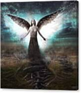 Rooted Angel Canvas Print