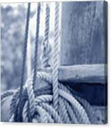 Rope And Mast Canvas Print