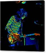 Saturated Blues Rock Canvas Print