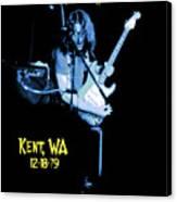 Rory Kent Blues Canvas Print