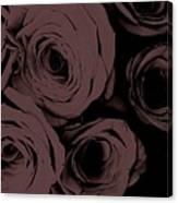 Rosa D'amore Deep Mauve Canvas Print