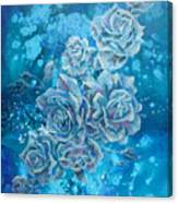 Rosa Stellarum Canvas Print