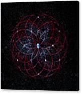 Rosace - Rose Nebula Canvas Print