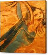 Rose - Tile Canvas Print