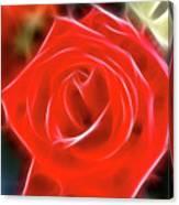 Rose-5827-fractal Canvas Print