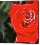 Rose-5890-fractal Canvas Print