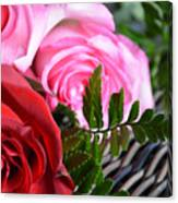 Rose Boquet Canvas Print