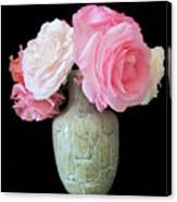 Rose Bouquet Stilllife Canvas Print