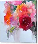 Rose Bowl II Canvas Print