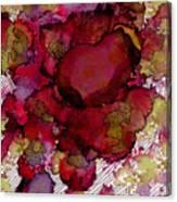 Rose Deep Canvas Print
