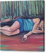 Rose Dreaming Canvas Print
