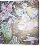 Rose Fairies Canvas Print