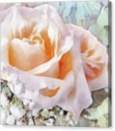 Rose Ivy Canvas Print