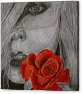 Rose Kisses Canvas Print