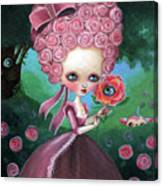 Rose Marie Antoinette Canvas Print