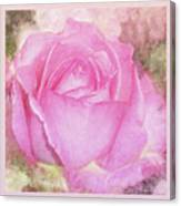 Enjoy A Rose Soft Pastel Canvas Print