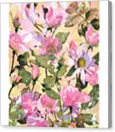 Rose Refraction Canvas Print