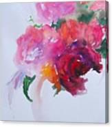 Rosebowl 1 Canvas Print