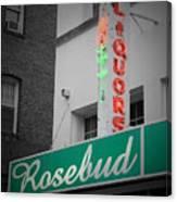 Rosebud Liquors Canvas Print