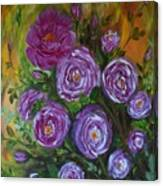 Rosebush Canvas Print