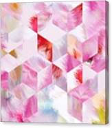 Roselique Cubes Canvas Print