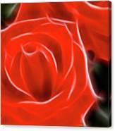 Roses-5814-fractal Canvas Print