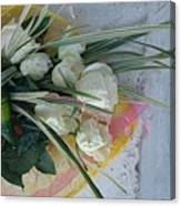 Roses And Chocolate  Canvas Print