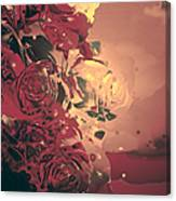 Roses Are Forever Canvas Print