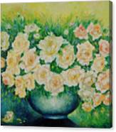 Roses. Canvas Print