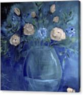 Roses For Him Painting Canvas Print