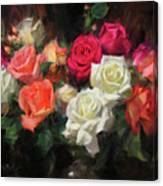 Roses For Kim Canvas Print