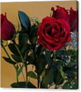 Roses For Valentines Day Canvas Print