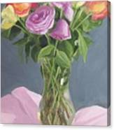 Roses From Life Canvas Print