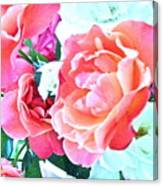 Roses Galore Canvas Print