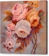 Roses Study Canvas Print