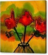 Rosey Afternoon Canvas Print