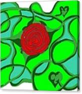 Roseybud Canvas Print