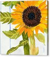 Rosezella's Sunflowers II Canvas Print