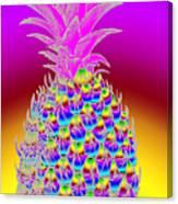 Rosh Hashanah Pineapple Canvas Print