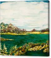 Roslyn Harbor Canvas Print