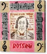 Rossini Portrait Canvas Print