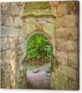 Rosslyn Castle Forest Entry Canvas Print