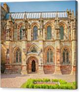 Rosslyn Chapel Panorama Canvas Print