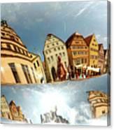 Rotenburg In A Tuba Canvas Print