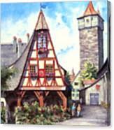 Rothenburg Memories Canvas Print