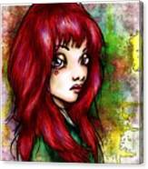 Rotschopf Canvas Print